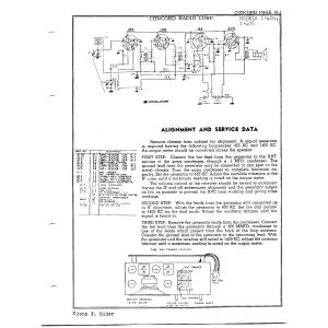 Concord Radio Corp. 1-404