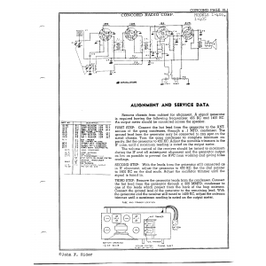Concord Radio Corp. 1-405