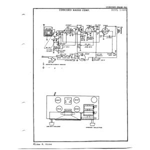 Concord Radio Corp. 1-413
