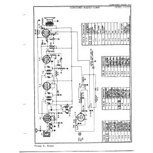 Concord Radio Corp. 1-513