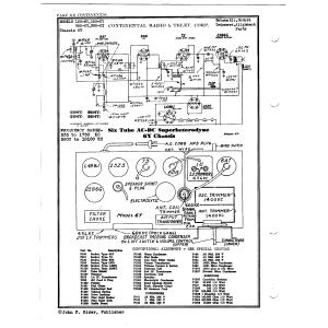 Continental Radio & Television Corp. 150-6Y
