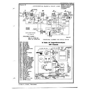 Continental Radio & Television Corp. 165-6W