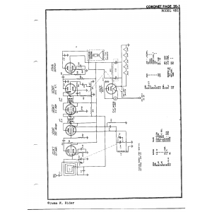 Coronet Radio & Television Co. 6B1