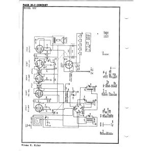 Coronet Radio & Television Co. 6B2