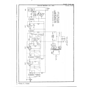 David Bogen Co., Inc. R502