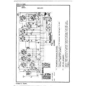 Delco Radio Corp. 4053-A