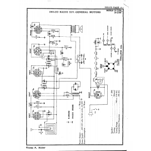 Delco Radio Corp. R-1234