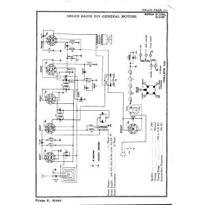 Delco Radio Corp. R-1235