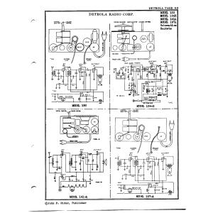 Detrola Corp. 134X