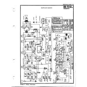 DeWald Radio Mfg. Corp. 1100