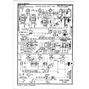 DeWald Radio Mfg. Corp. 1102-3