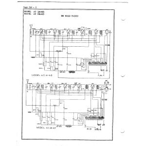 DeWald Radio Mfg. Corp. 14-45