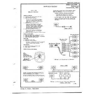 DeWald Radio Mfg. Corp. 202M