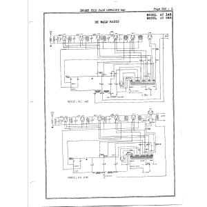 DeWald Radio Mfg. Corp. 245