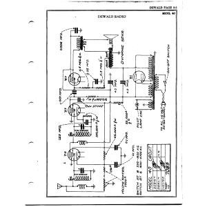 DeWald Radio Mfg. Corp. 40