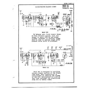 Echophone Radio Corp. 111