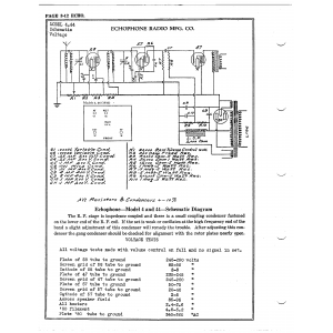 Echophone Radio Corp. 44