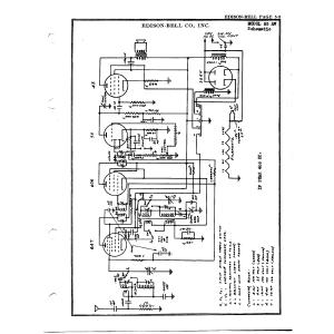 Edison-Bell Co., Inc. 55 AW