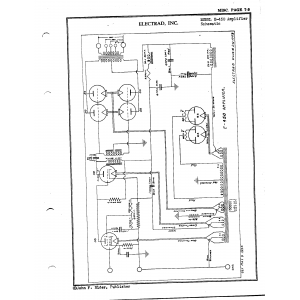 Electrad, Inc. E-450 Amplifier