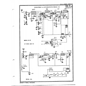 Electric & Automotive Prod. Co. 25-AW