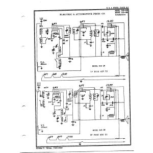 Electric & Automotive Prod. Co. 303-SW