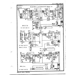 Electric & Automotive Prod. Co. 30-AW
