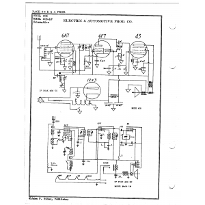 Electric & Automotive Prod. Co. 405-LW