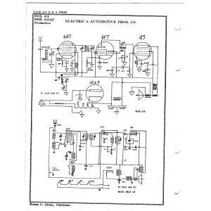 Electric & Automotive Prod. Co. 405