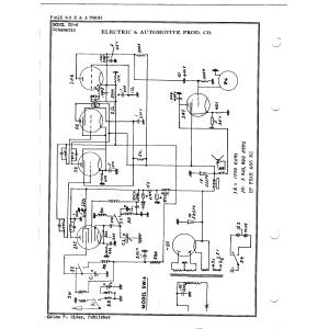 Electric & Automotive Prod. Co. SW-6