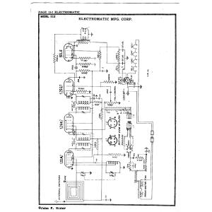 Electromatic Mfg. Corp. 512