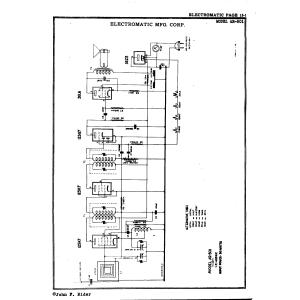 Electromatic Mfg. Corp. AR-501