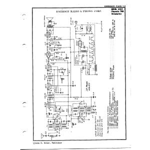 Emerson Radio & Phonograph Corp. 101U