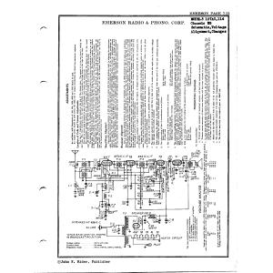 Emerson Radio & Phonograph Corp. 107AC