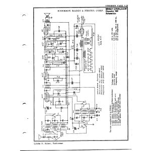 Emerson Radio & Phonograph Corp. 107LW