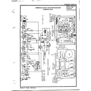 Emerson Radio & Phonograph Corp. 110