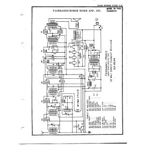 Fairbanks Morse & Co. 32 Volt