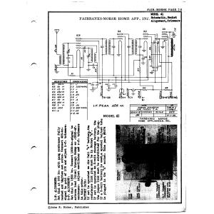 Fairbanks Morse & Co. 41