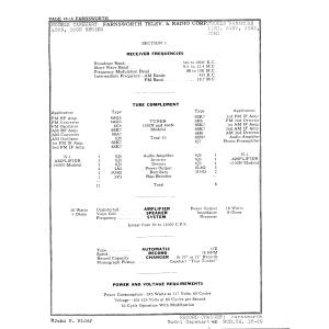 Farnsworth Television & Radio Corp. 100N
