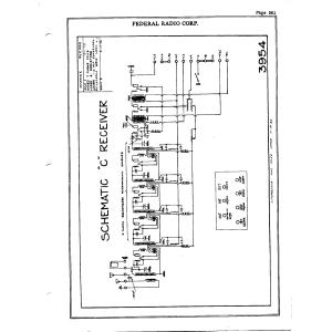 Federal Radio Corp. C
