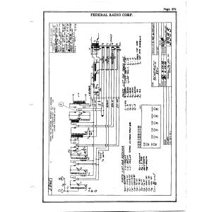 Federal Radio Corp. G 25 Cyc.