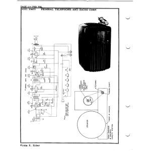 Federal Telephone and Radio Corp. 1040TB