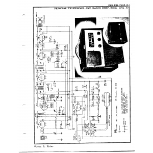 Federal Telephone and Radio Corp. 6001 PC