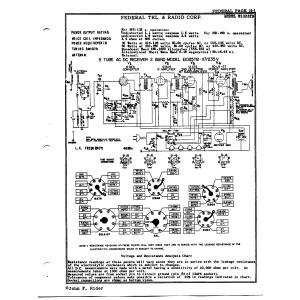 Federal Telephone and Radio Corp. E1025TB