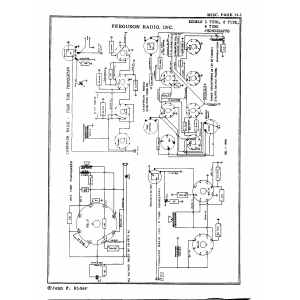 Ferguson Radio, Inc. 1 Tube Phono