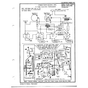 Ferguson Radio, Inc. 3-Tube Phono.