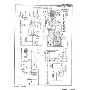 Ferguson Radio, Inc. 4 Tube Phono