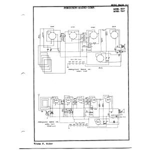 Ferguson Radio, Inc. 5X47