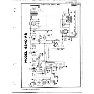 Ferguson Radio, Inc. 6340AB