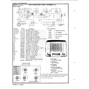 Firestone Tire & Rubber Co. 4-A-61