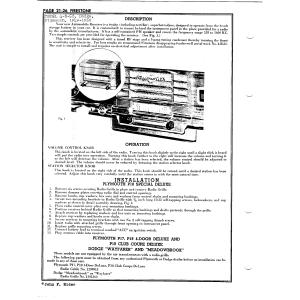 Firestone Tire & Rubber Co. 4-B-58